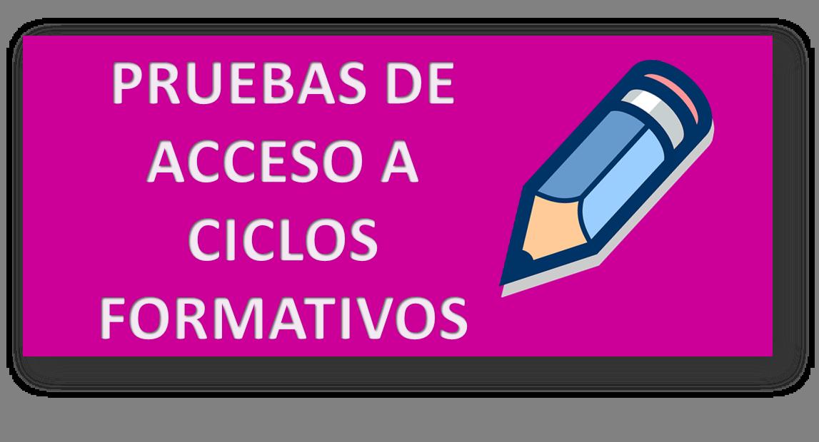 Pruebas De Acceso A Ciclo Superior Ies Ppg Huelva